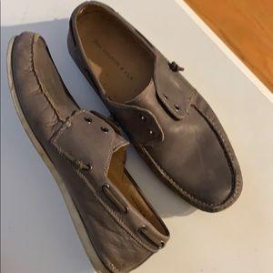 John Varvatos USA- Slip on men's shoes gray. 11M